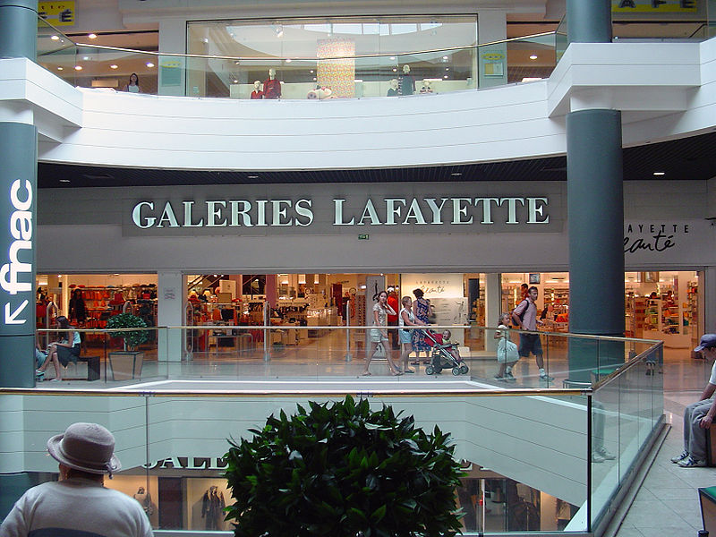 Topshop vanaf oktober ook in Galeries Lafayette