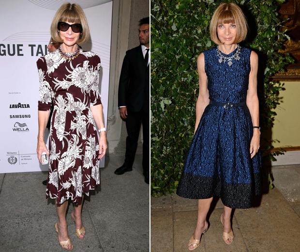 Anna Wintour draagt altijd dezelfde schoenen!