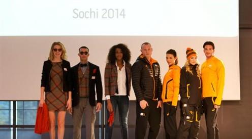 Nieuwe sport tenues Olympische ploeg gepresenteerd