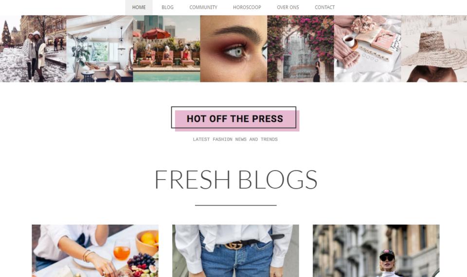 De volgens ons leukste nieuwe fashionblog!